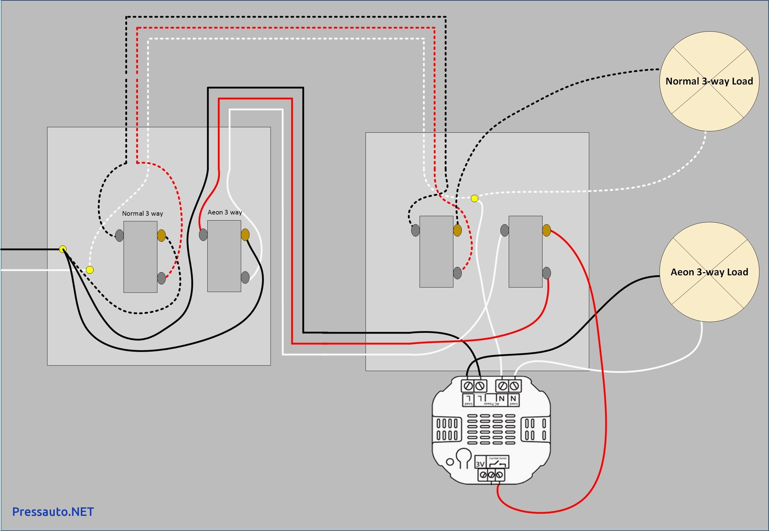 Three Way Light Switch Wiring Diagram Unique | Wiring Diagram Image