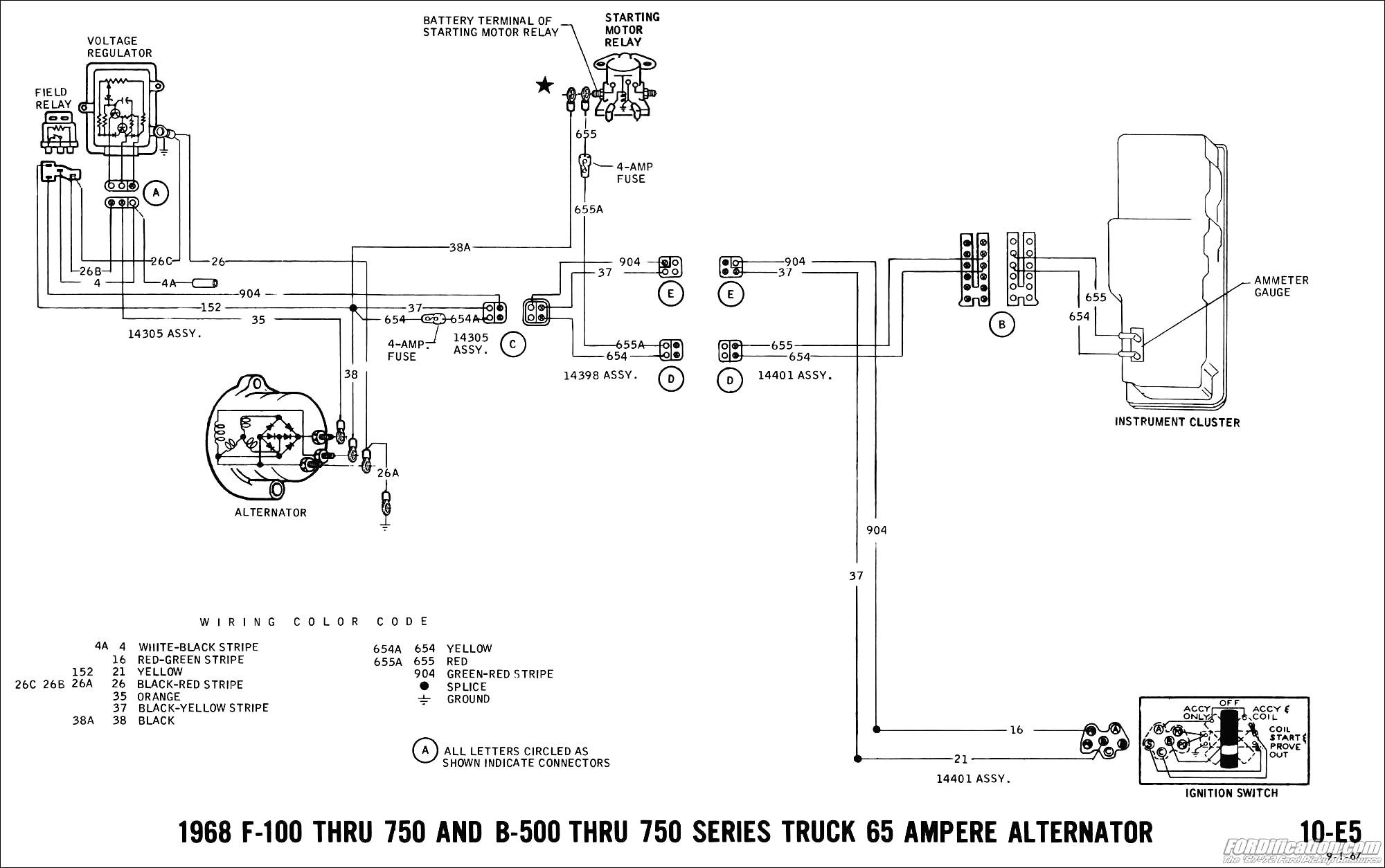 Toyota Alternator Wiring Diagram | Wiring Diagram Image