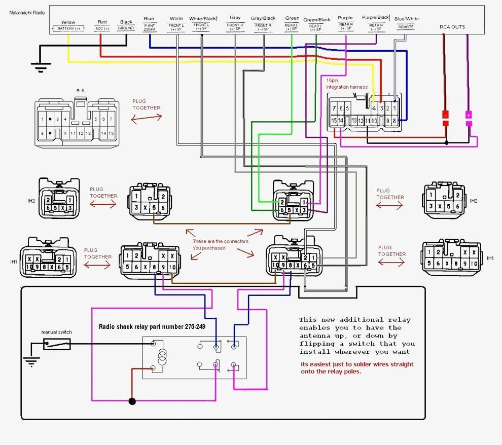 Toyota Pickup Wiring Harness Diagram Electrical Schematics 2006 4runner On 86 Fujitsu Ten 86120 Image 92