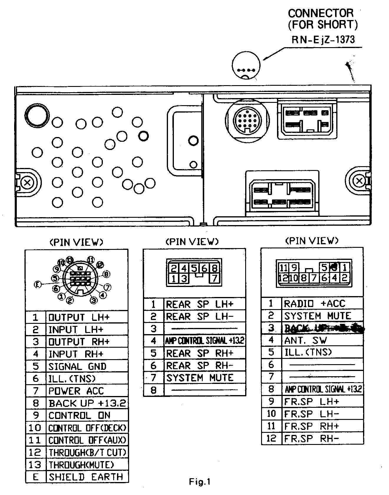 Fujitsu Ten Stereo Wiring Diagram - Residential Electrical Symbols •