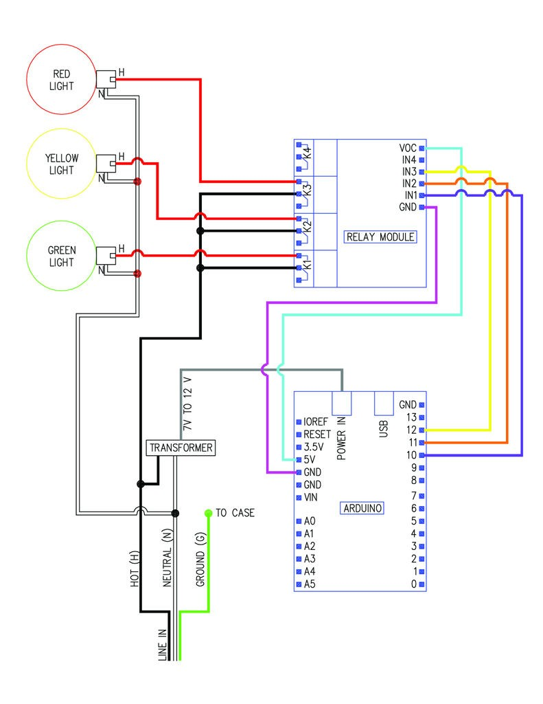 arduino traffic light wiring diagram find wiring diagram \u2022 traffic light wiring diagram pdf traffic light circuit diagram wiring diagram image rh mainetreasurechest com model t3 traffic signal control traffic light circuit schematic