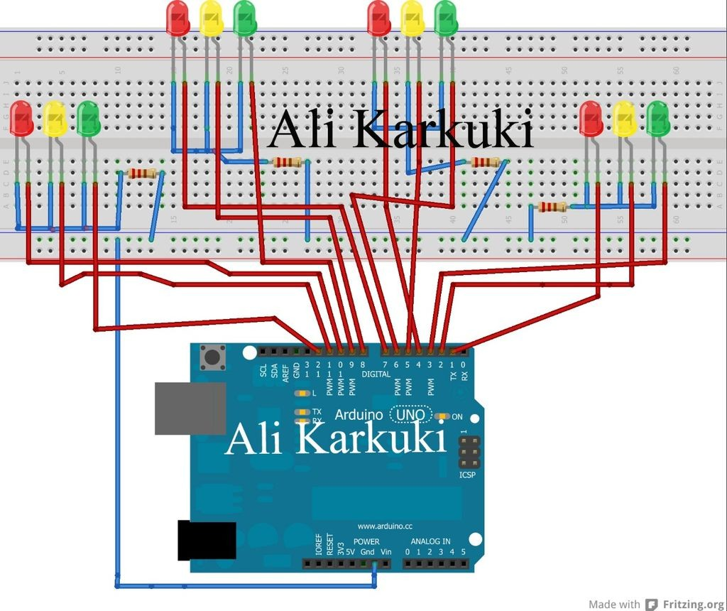 Arduino Traffic Light Wiring Diagram wiring diagrams image free