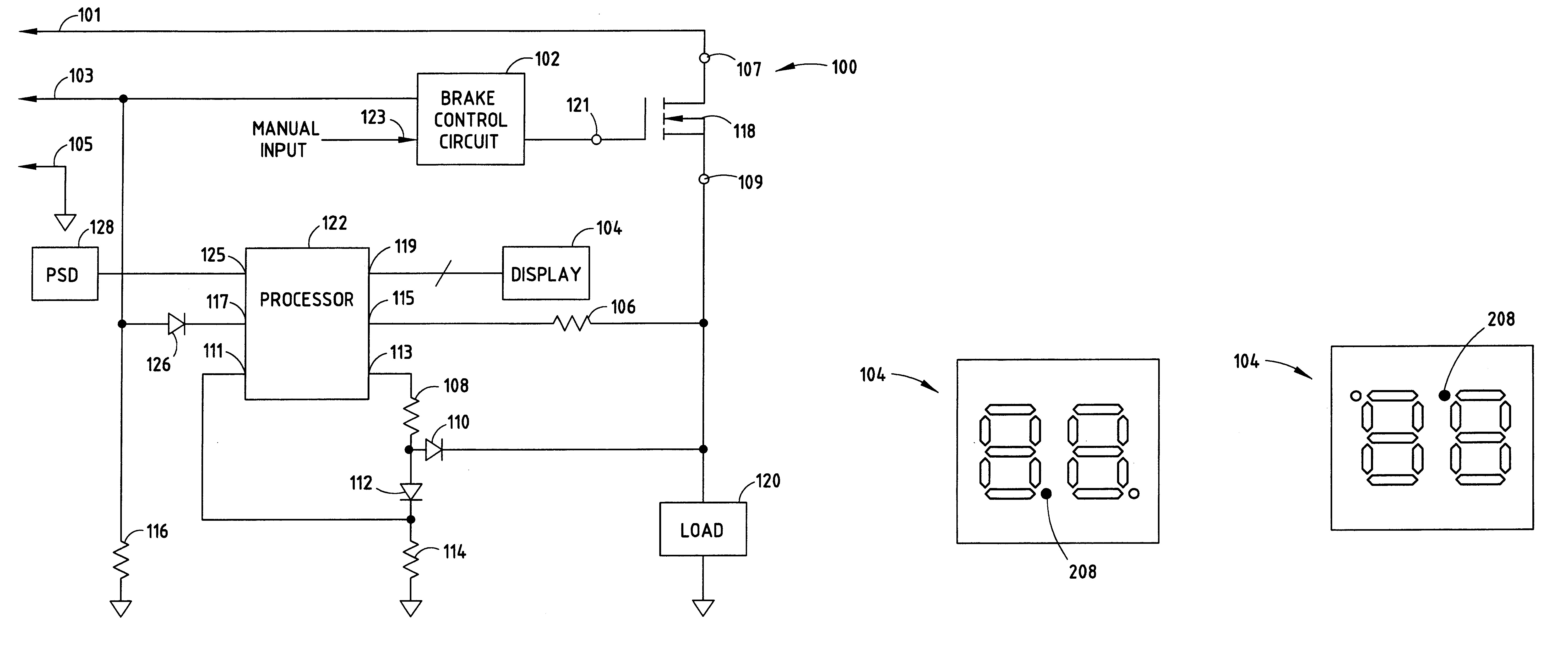 Patent US And Trailer Brake Control Wiring Diagram With Controller