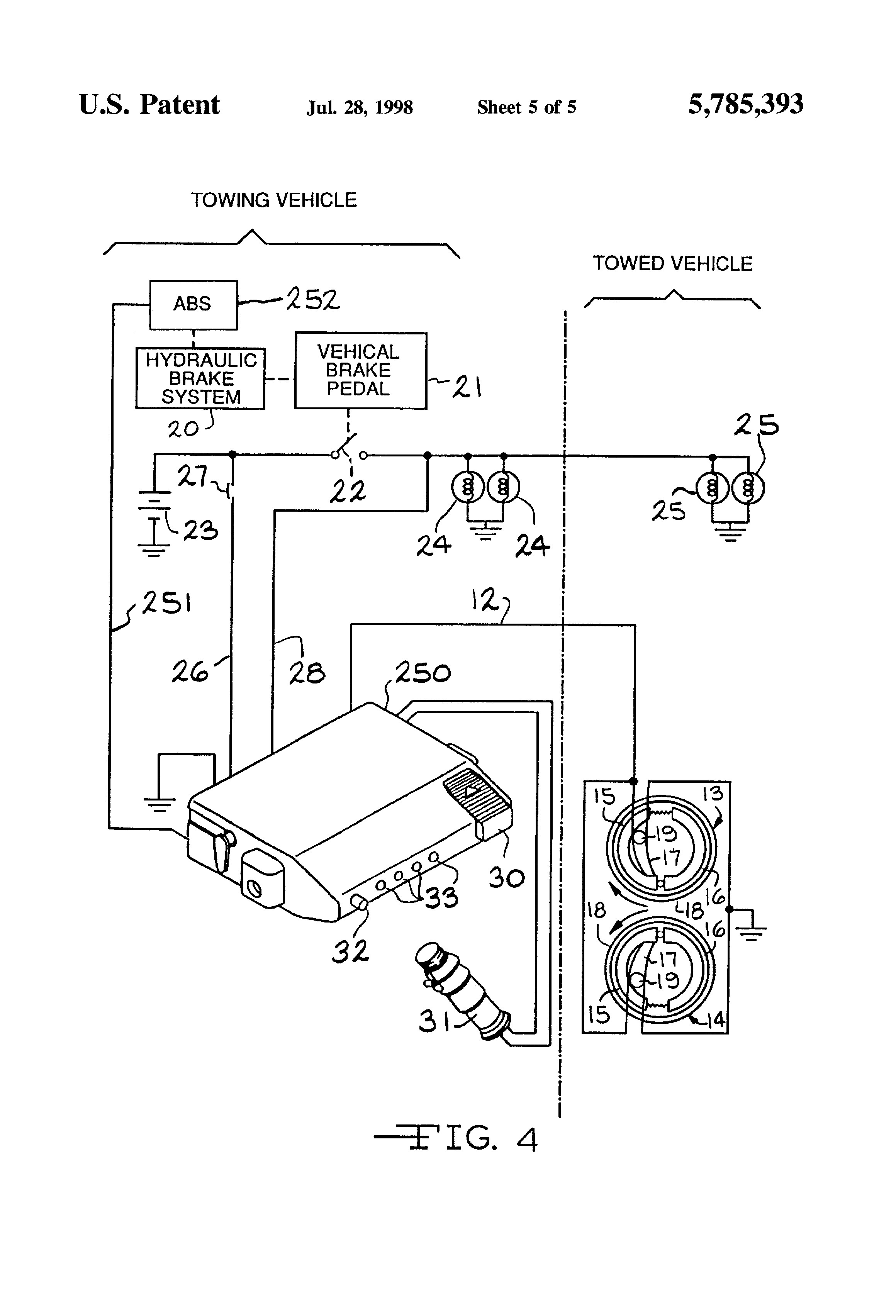 Electric Trailer Brakes Wiring Diagram For 7 Way And Tekonsha Brake Control