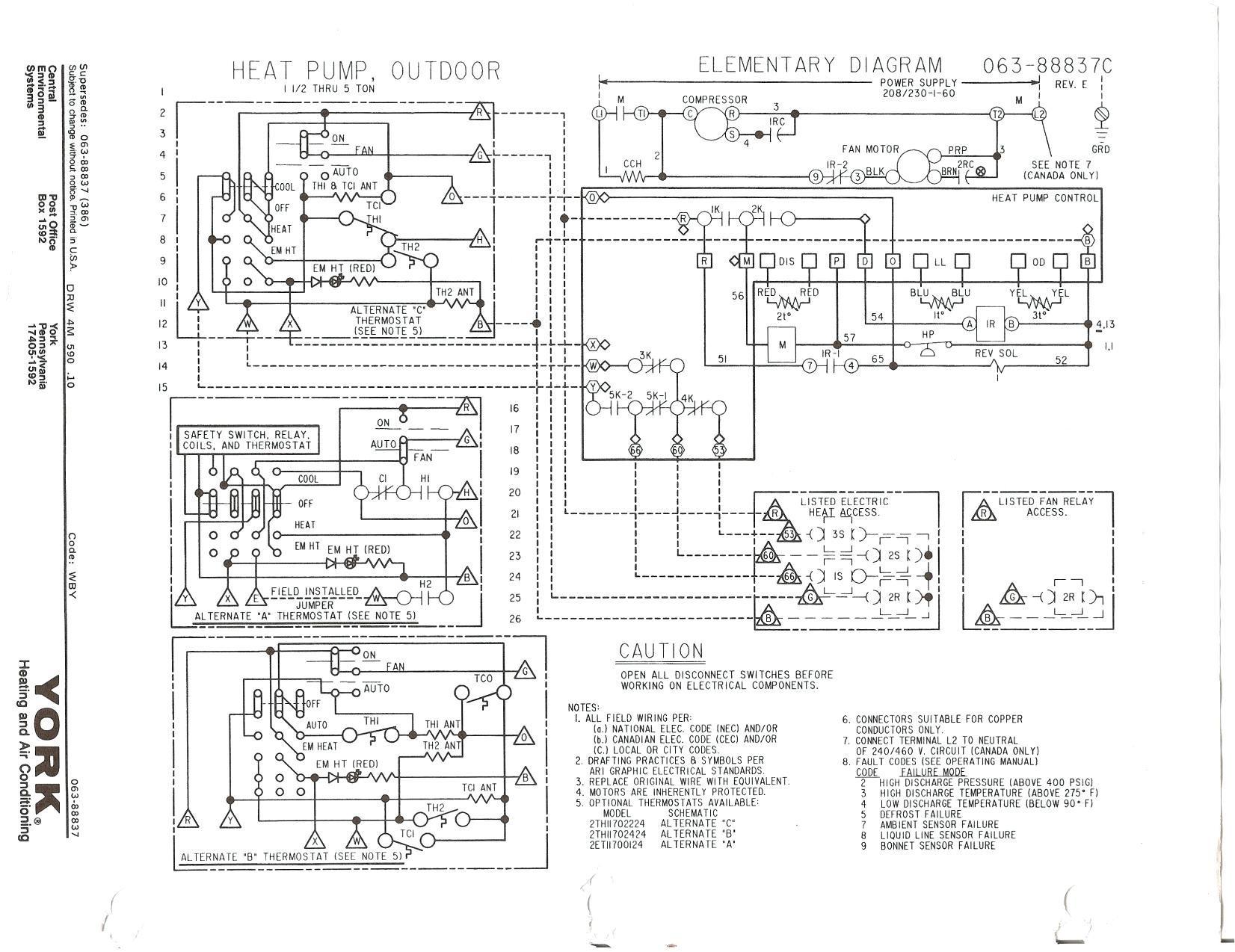 Trane Xl 1200 Wiring Diagram Elegant Trane Heat Pump Wiring and Pressor Diagram Gooddy org within
