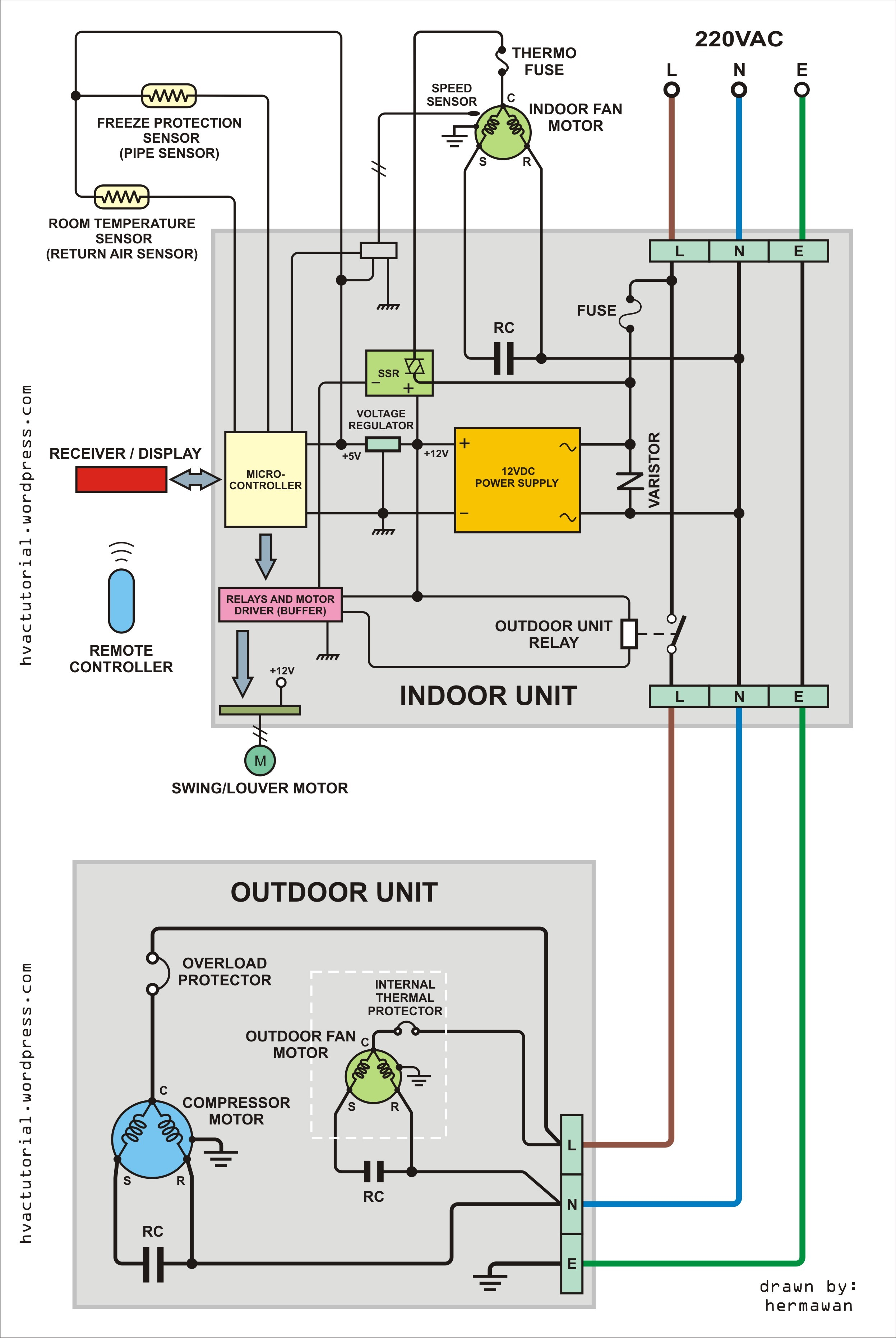 Ideas Wiring Diagram For Gibson Heat Pump The And Trane Pressor Air For Trane
