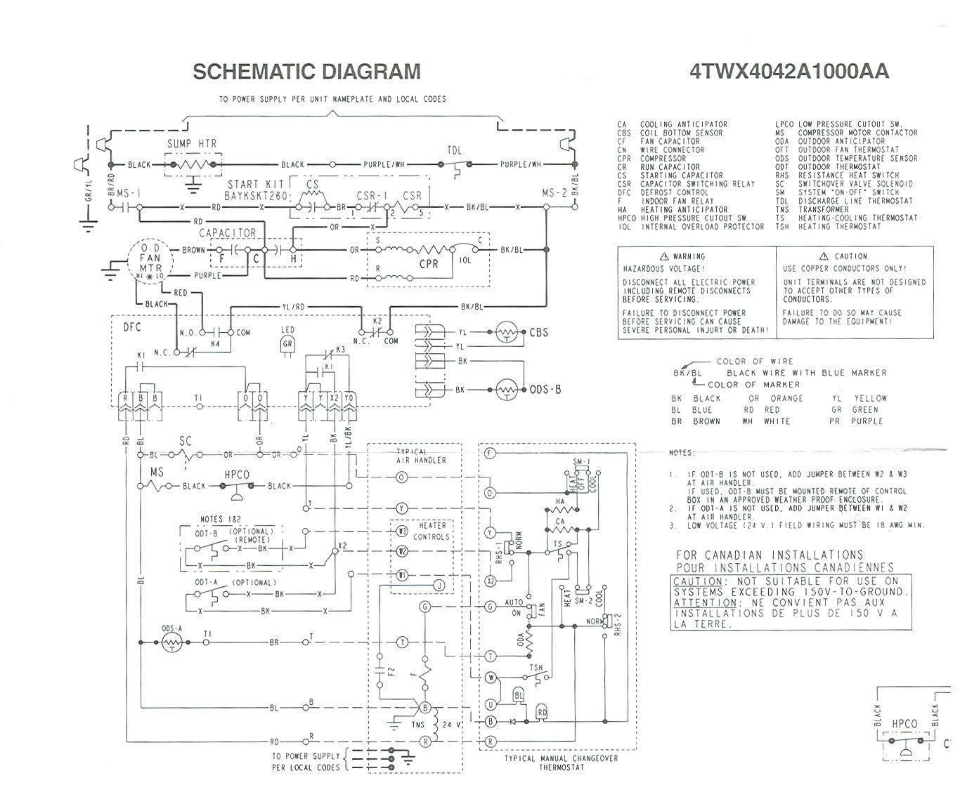 wiring diagram trane xl1400 auto wiring diagram today u2022 rh bigrecharge co Trane Model Number Nomenclature Trane Air Handler Wiring Diagrams