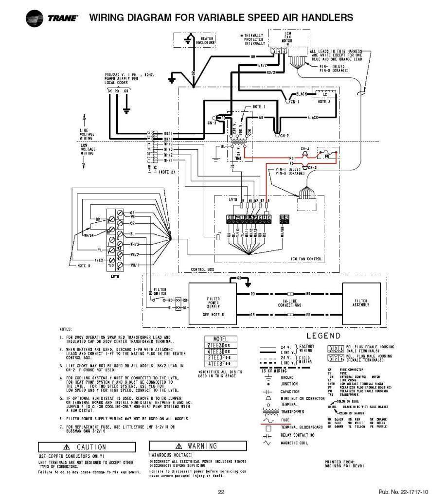Trane Rooftop Wiring Diagram