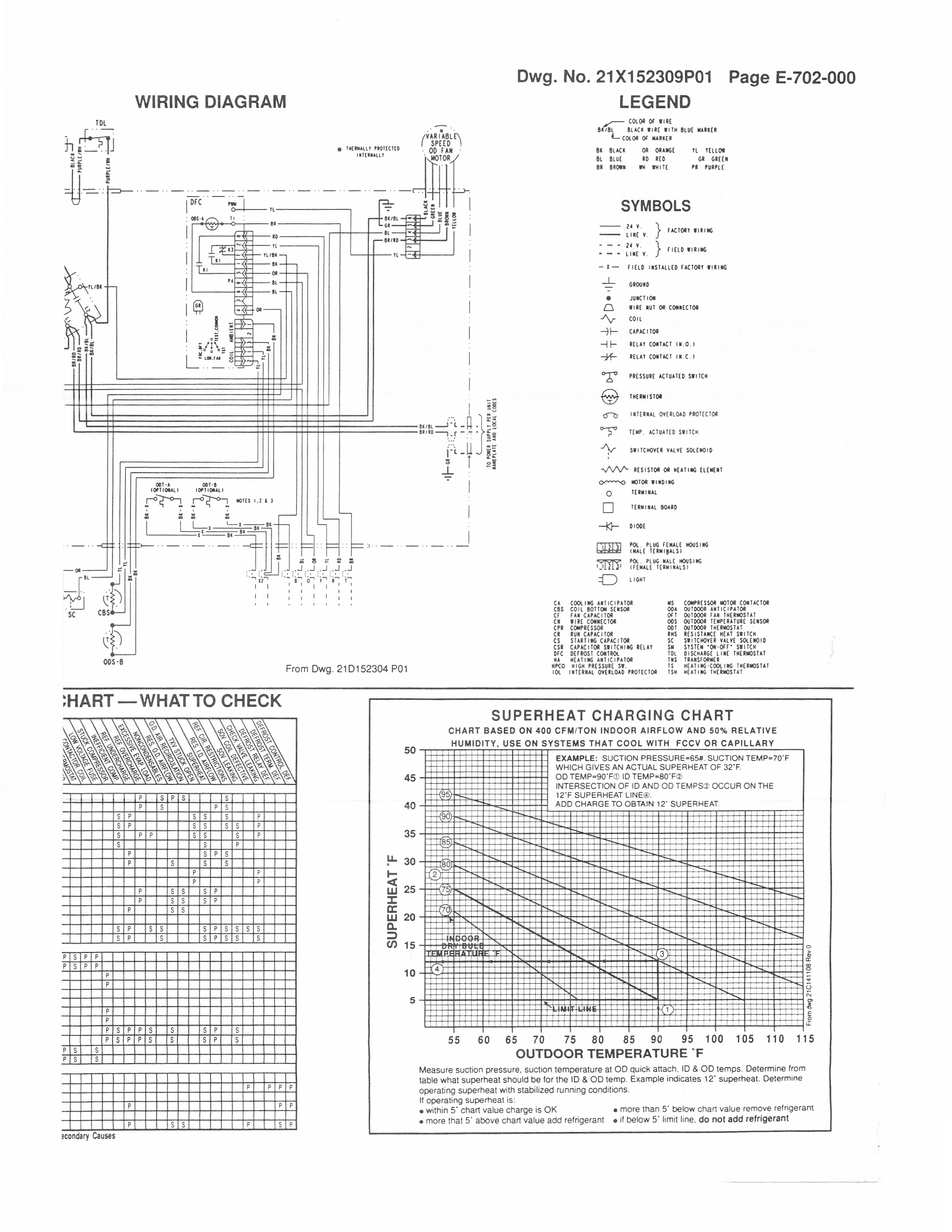 Wiring Diagram For A Trane Xr11 Condenser To A Thermostat Heat