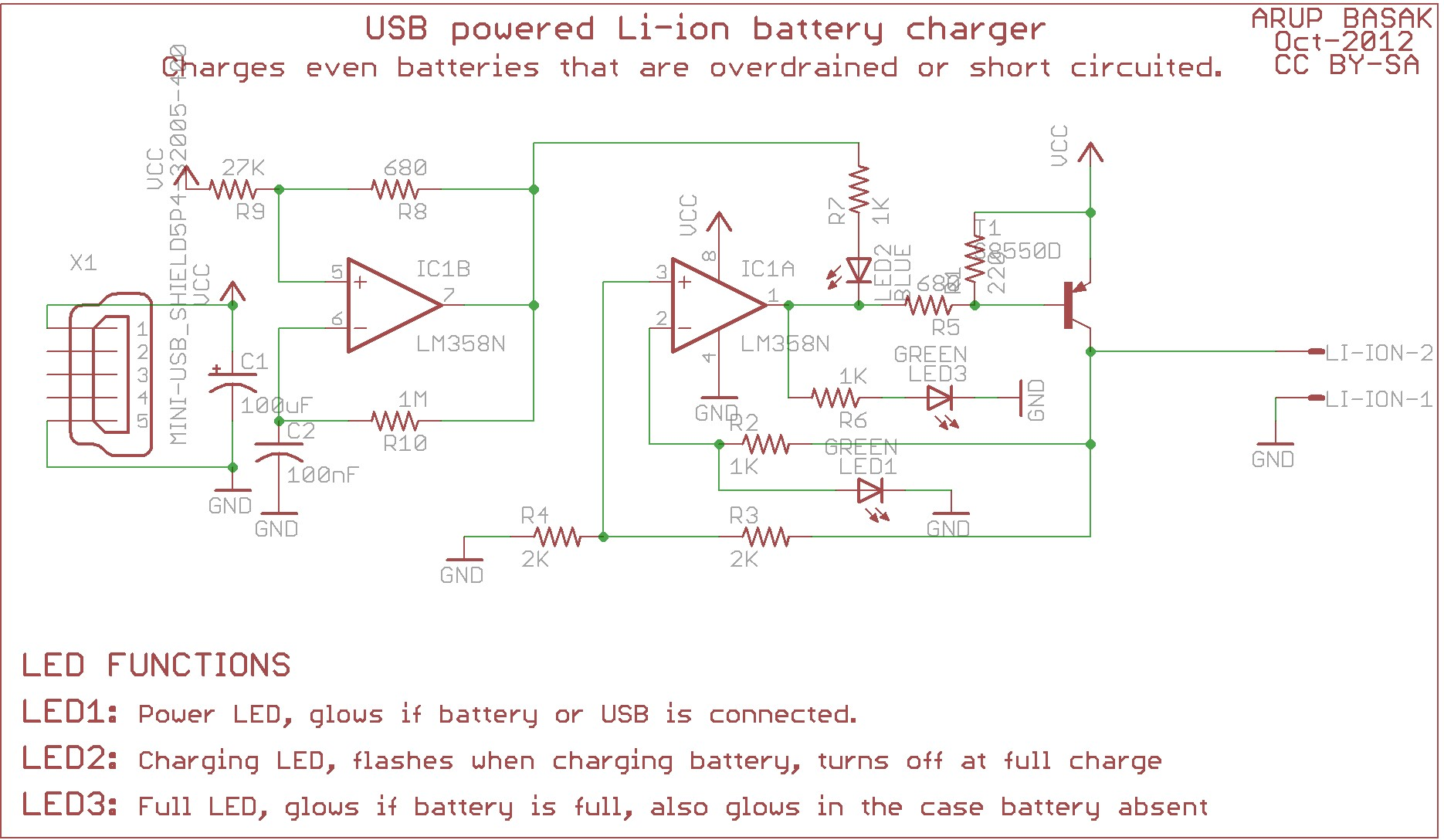 Here s the corrected schematics and the board design of the circuit