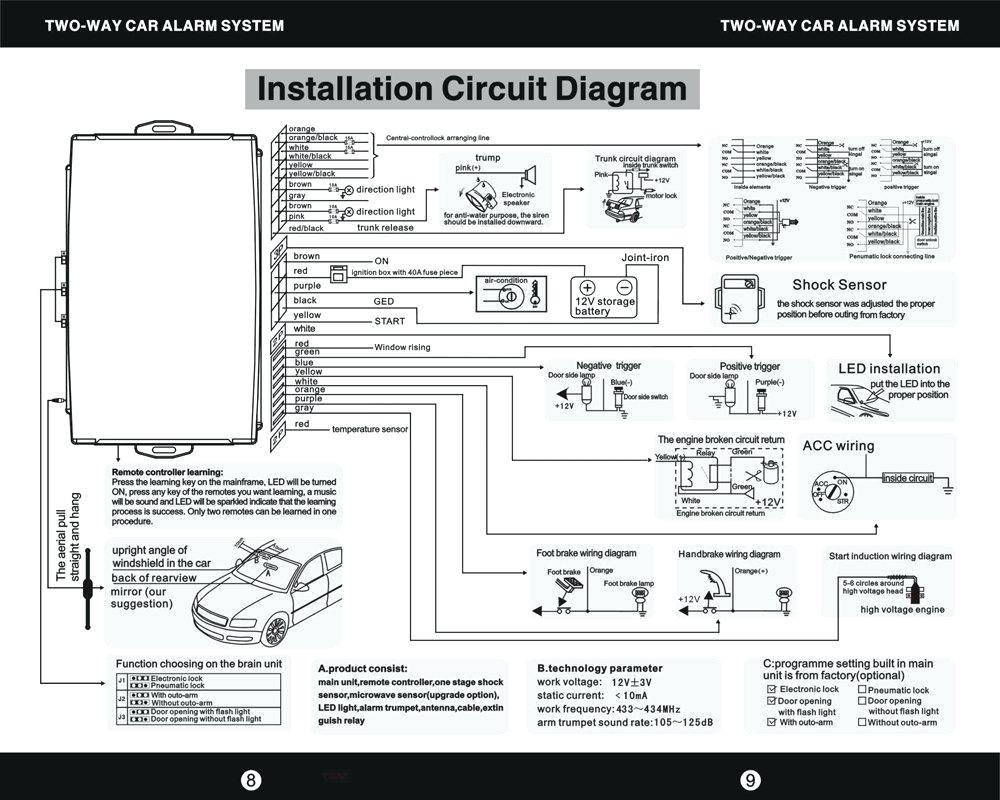 mando Alarm Wiring Diagram