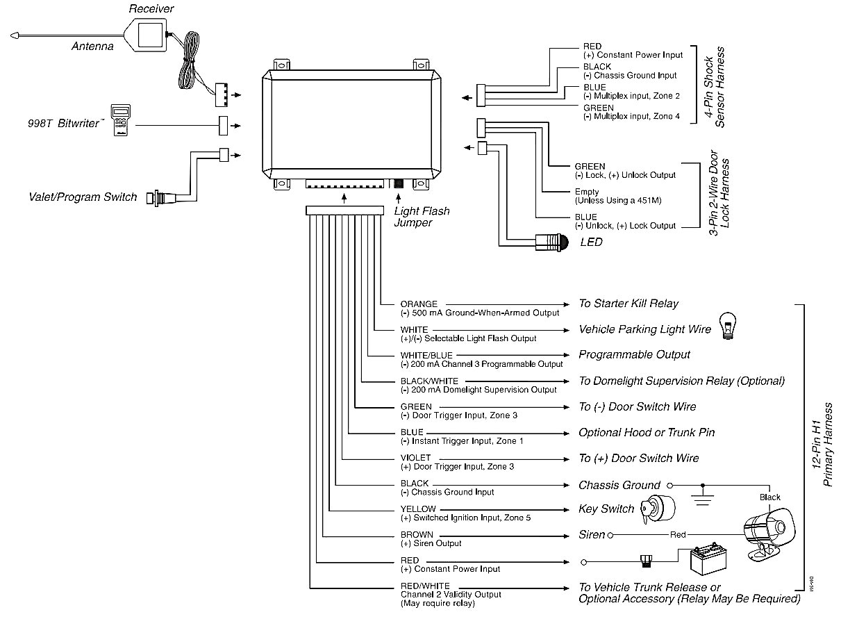 98 Dodge Durango Alternator Wiring Diagram Will Be 2004 Harness Viper 3105v Image 2002 Radio