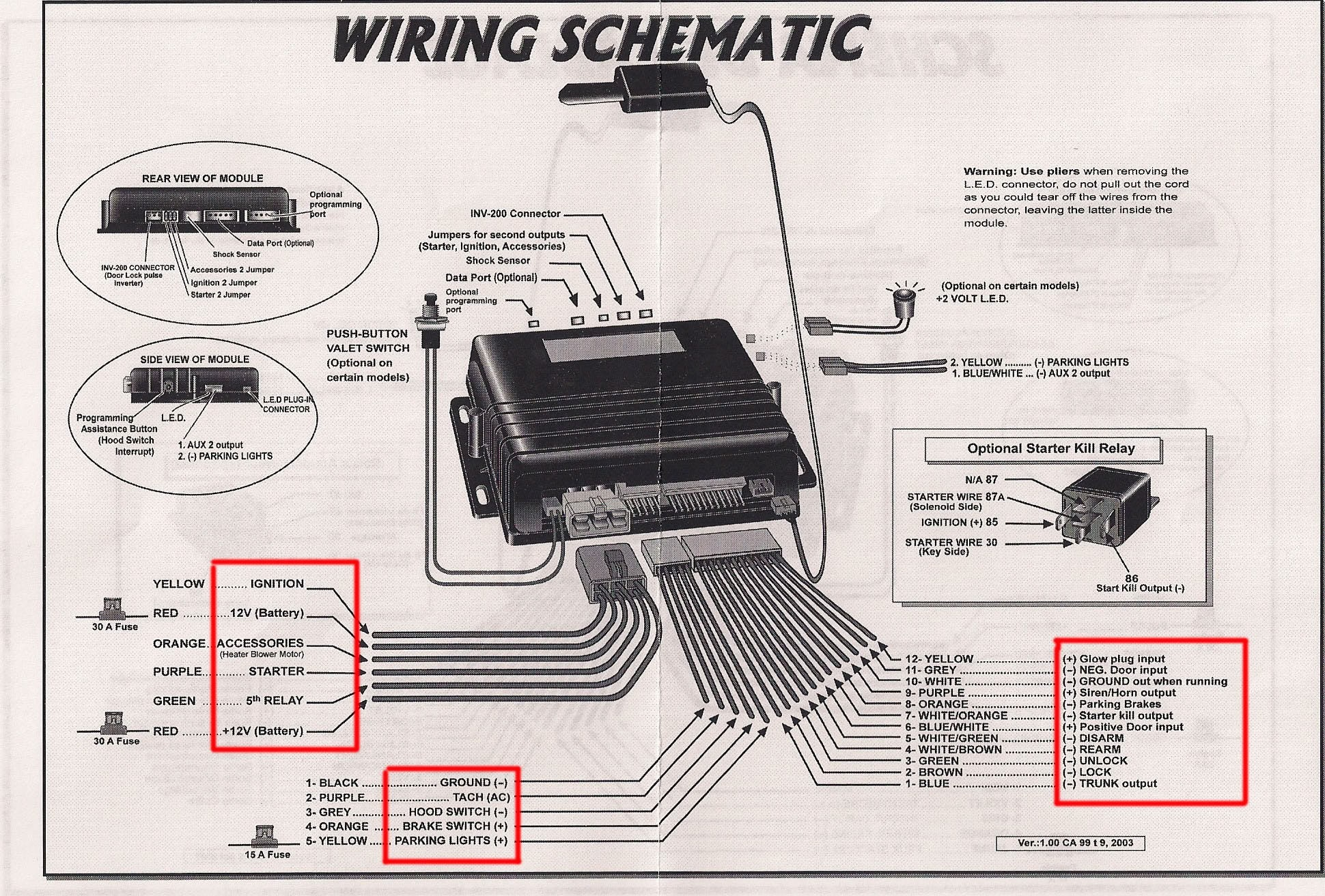 Bulldog Car Wiring Diagrams Security Diagram To Throughout With