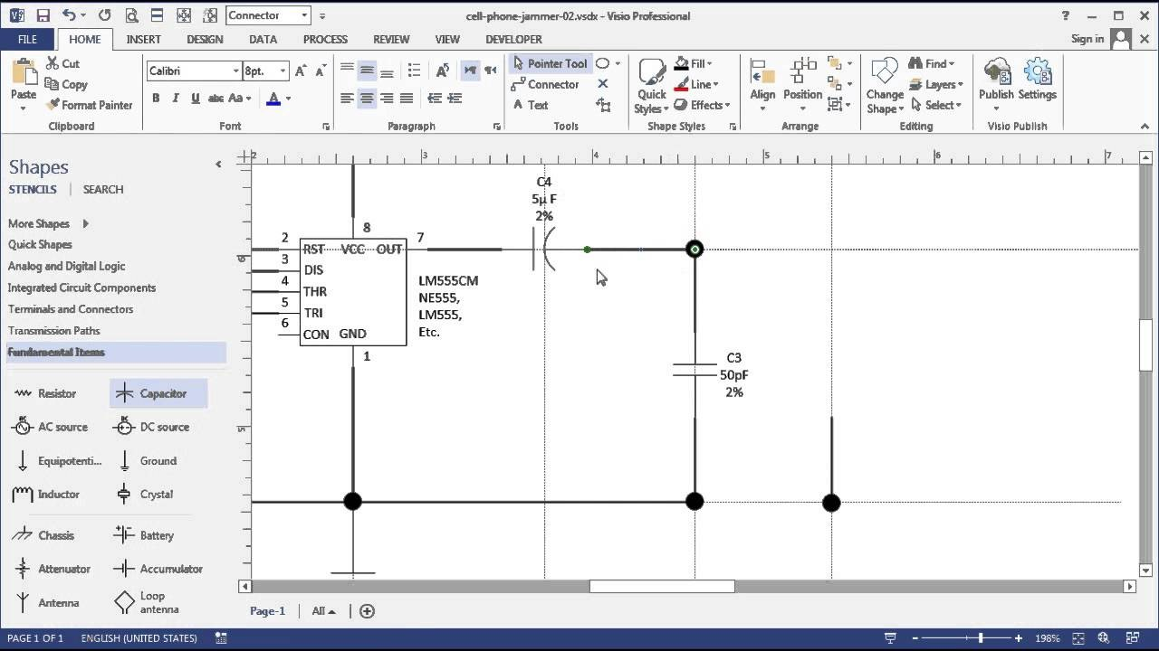 Visio Circuit Diagram Shapes Symbols Wire Wiring Diagrams Example Electrical U2022 Rh Emilyalbert Co Nmea