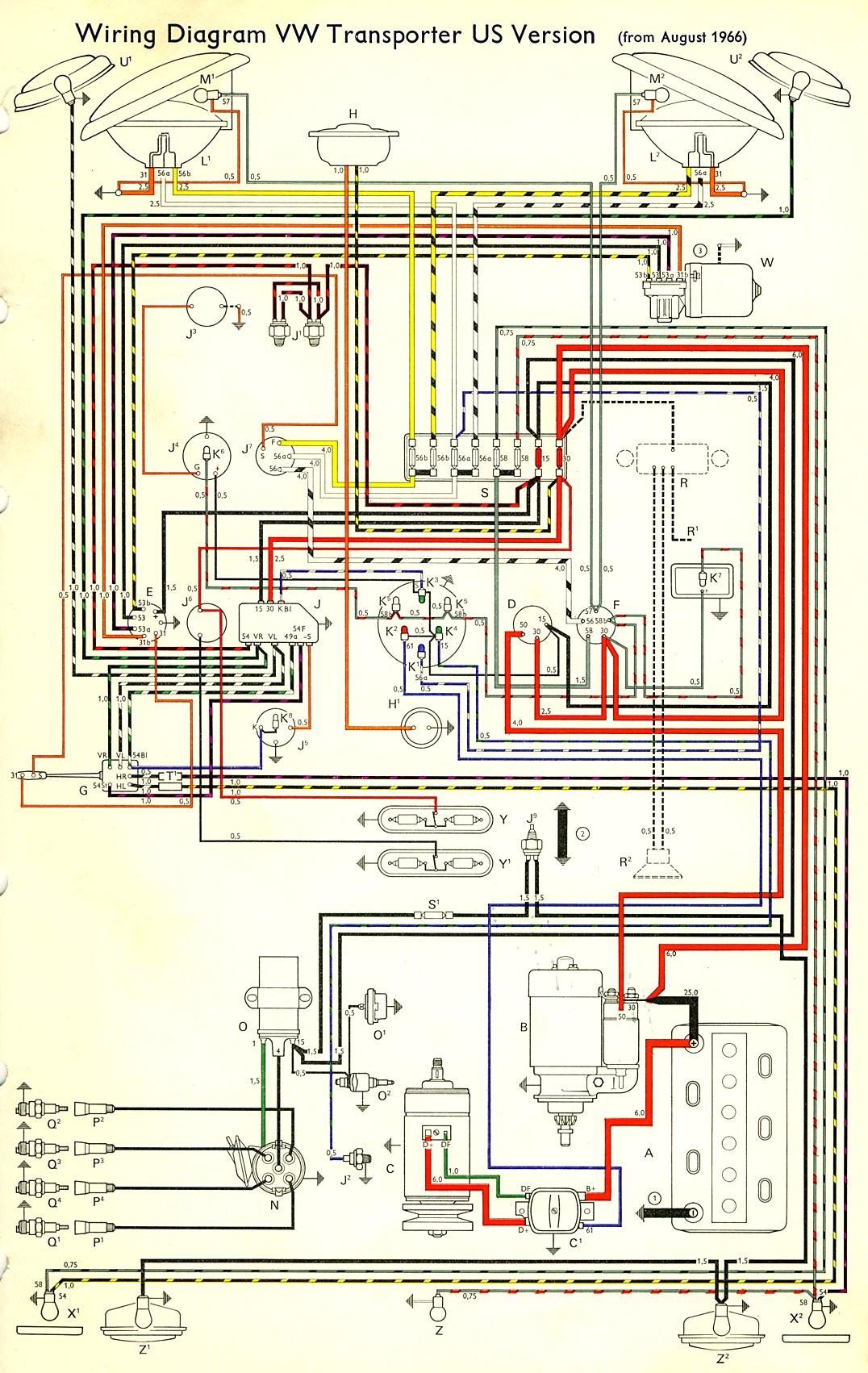 Vw T2 Alternator Wiring Solutions Alt Diagram Best Of Image