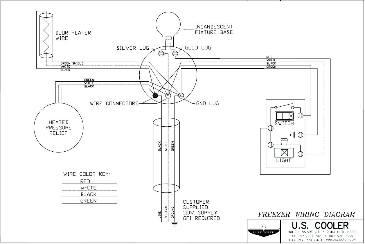 freezer wiring diagram of a room wiring diagrams schematics