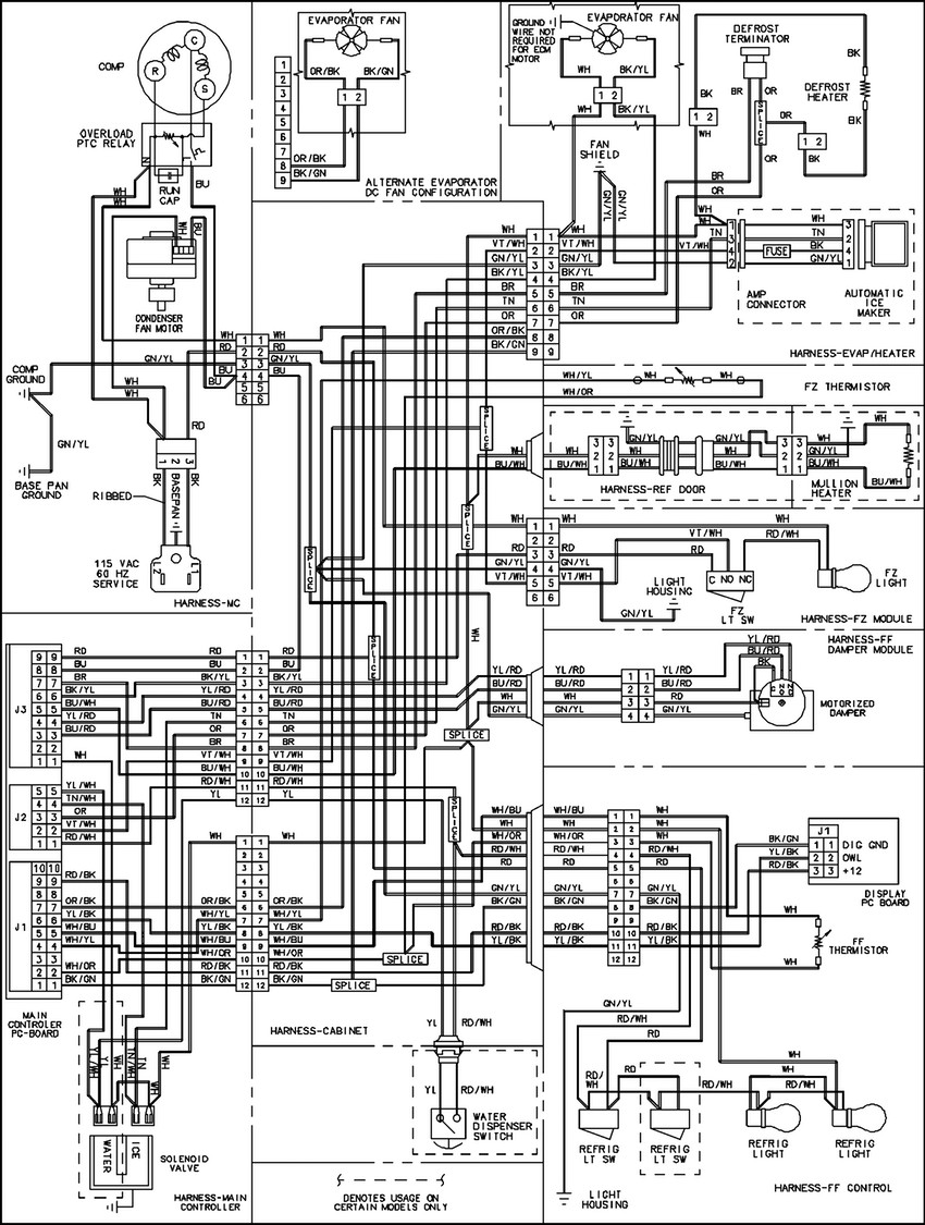 walkin freezer wiring diagram awesome