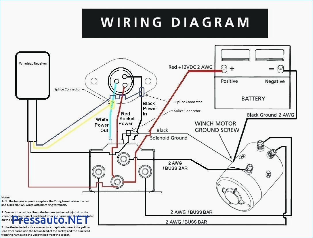 Winch Solenoid Wiring Diagram 12 Volt For Boat How Wire A Trailer Good By