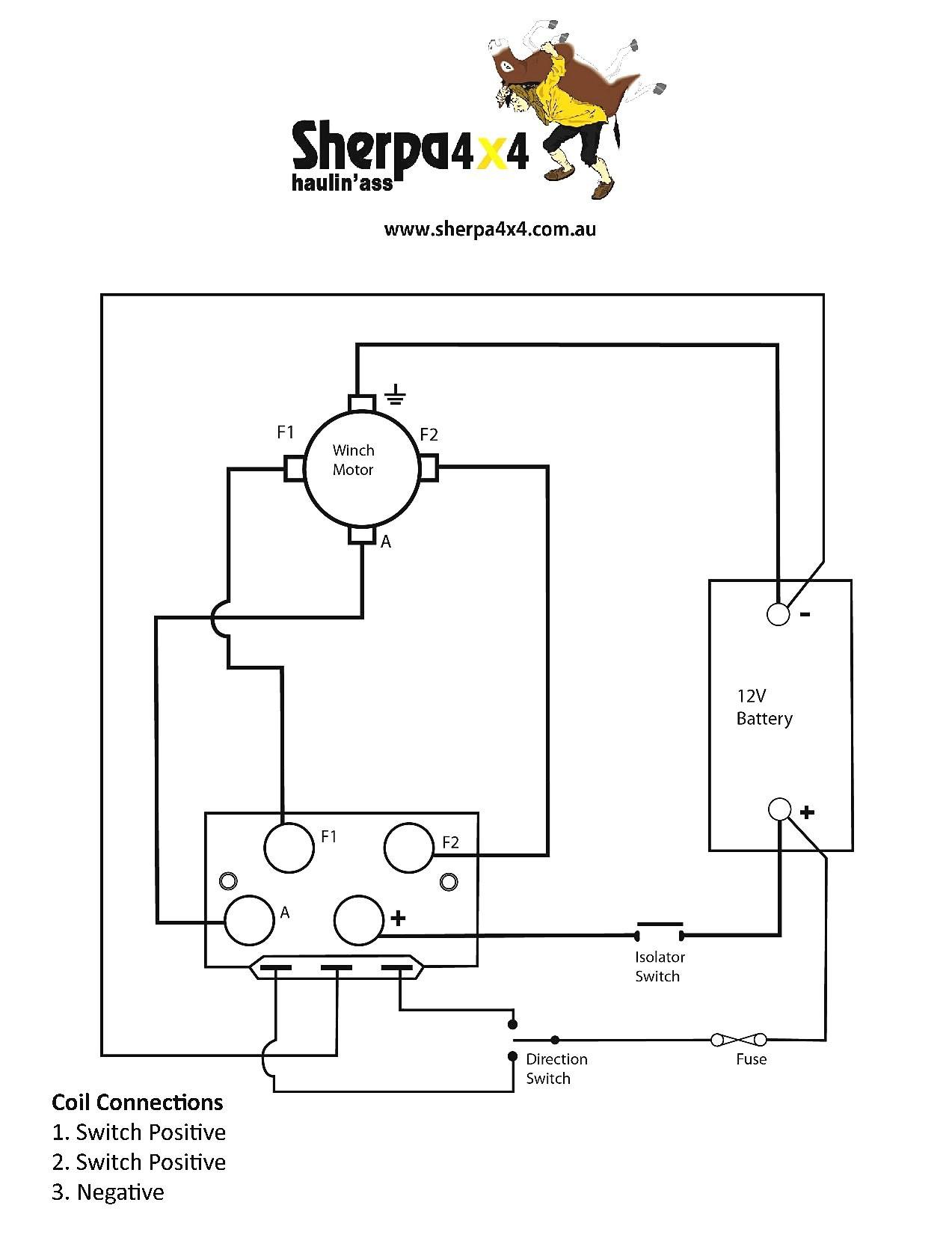4 Wheeler Winch Wiring Diagram - Wiring Library