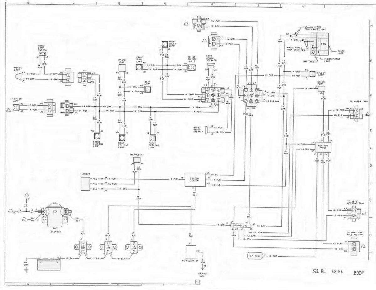 1977 Dodge Motorhome Wiring Diagram 1973 Winnebago Chieftain Wiring ...