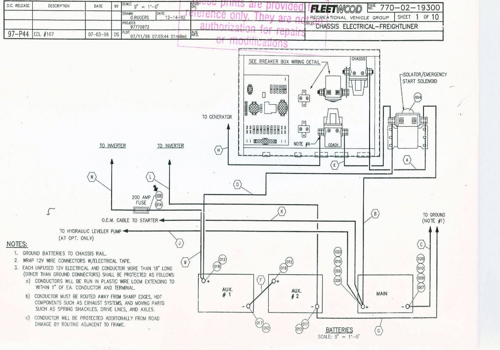 winnebago ac wiring trusted wiring diagram rh dafpods co Winnebago Diagram Sightseer 2005 30Bwiring Winnebago Diagram Sightseer 2005 30Bwiring