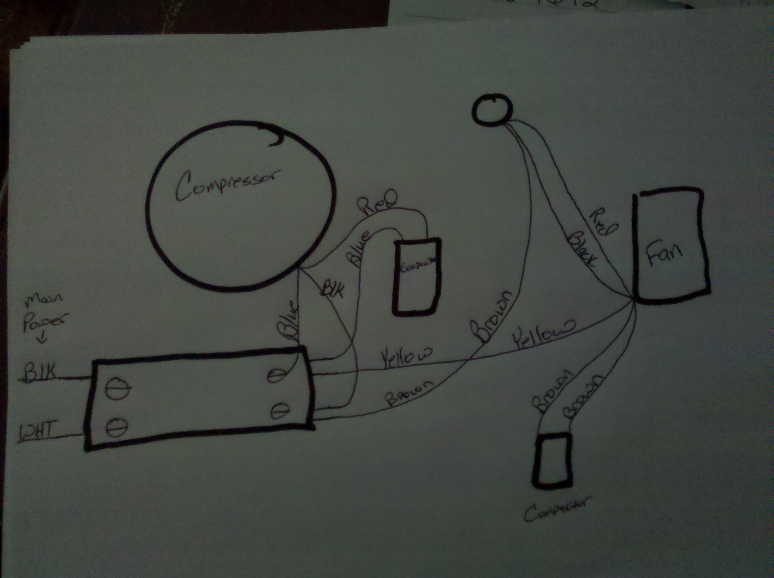 Emerson Fan Motor Wiring Diagram