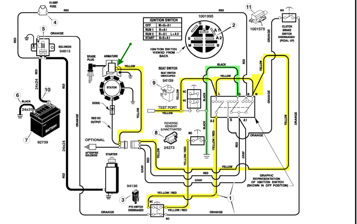 briggs and stratton wiring diagram 16 hp wiring diagram briggs rh 107 191 48 167 Briggs and Stratton Magneto Wiring 300 421 Briggs and Stratton Magneto Wiring 300 421