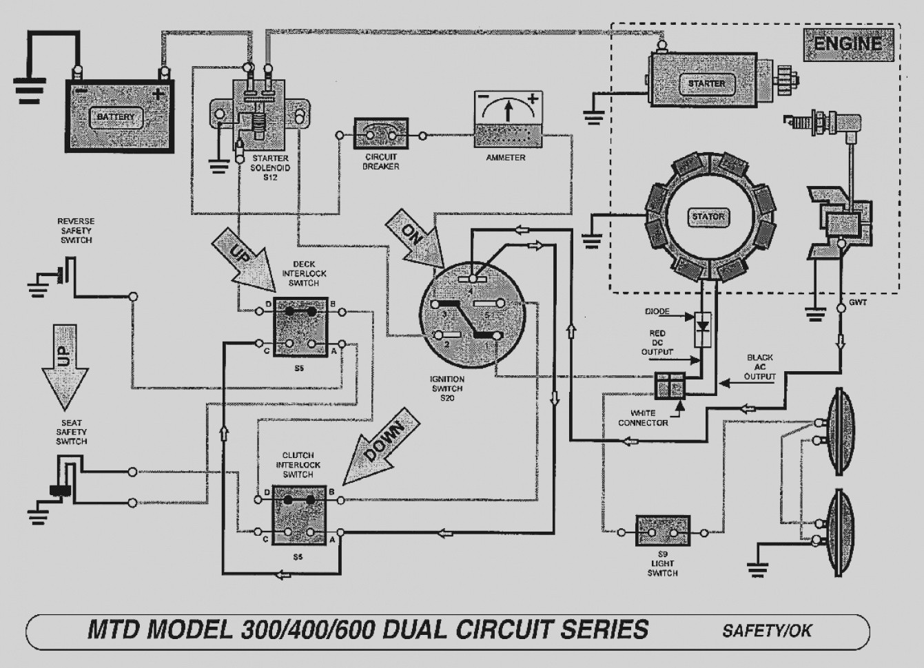 Wiring Schematic For Riding Lawn Mower Somurich Com