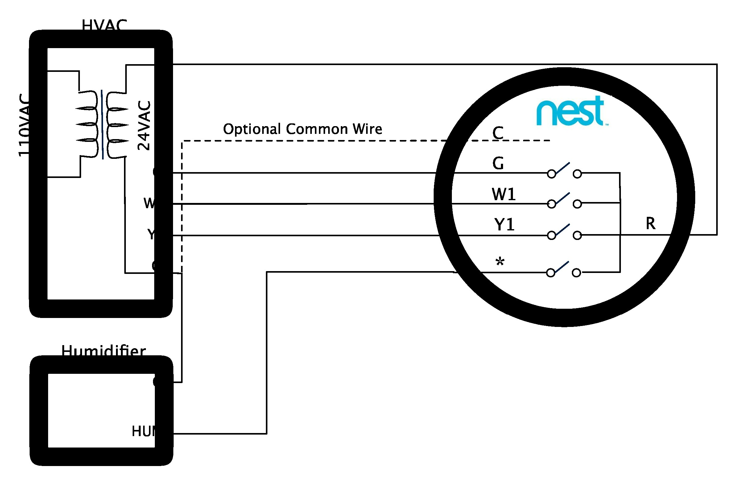 Nest Learning Thermostat Advanced Installation And Setup Help For In Wiring Diagram 4 Wire
