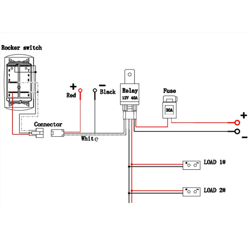 Wiring Led Light Bar without Relay Elegant | Wiring Diagram Image
