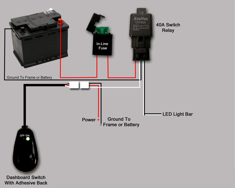 Wiring led light bar without relay elegant wiring diagram image epistar led light bar wiring diagram refrence light bar wiring asfbconference2016 Gallery