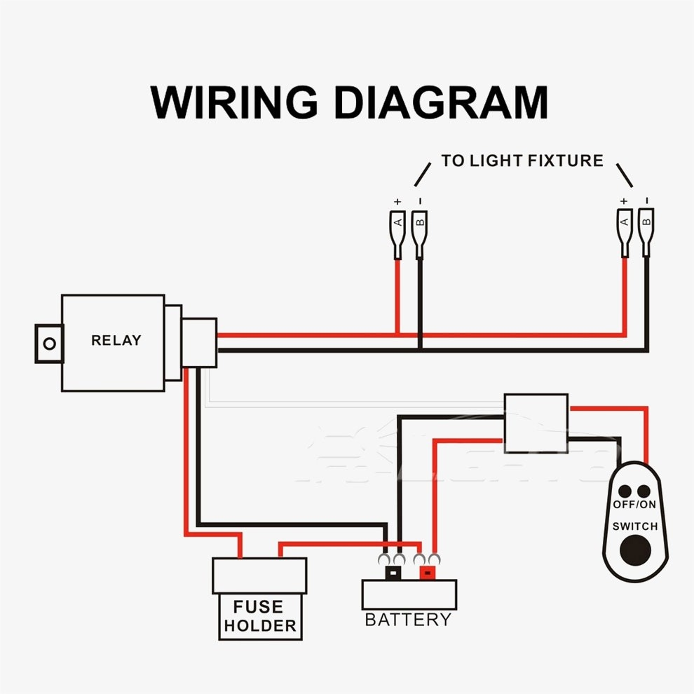 Led Light Bar Relay Wiring Diagram from mainetreasurechest.com
