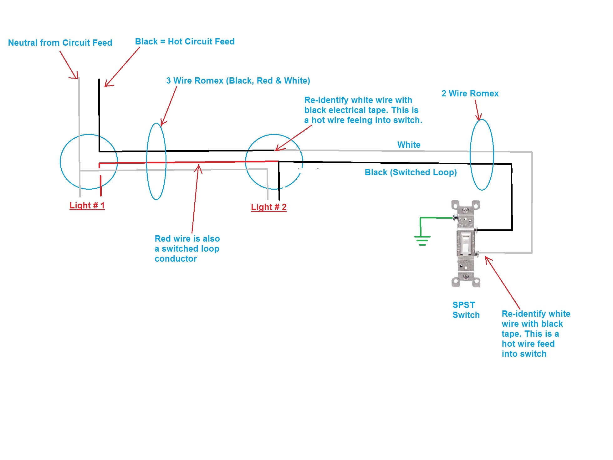 Wiring Multiple Fluorescent Lights To One Switch Trusted 3 Way Circuit Diagram Light Drawing Fixtures