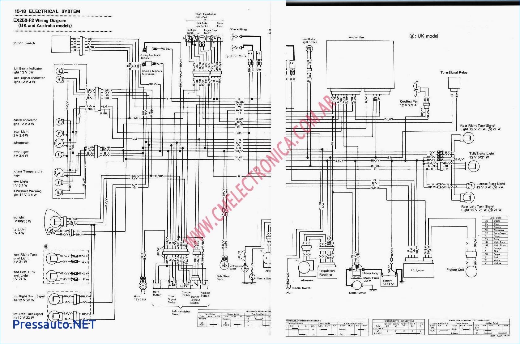 Yamaha Wiring Diagram