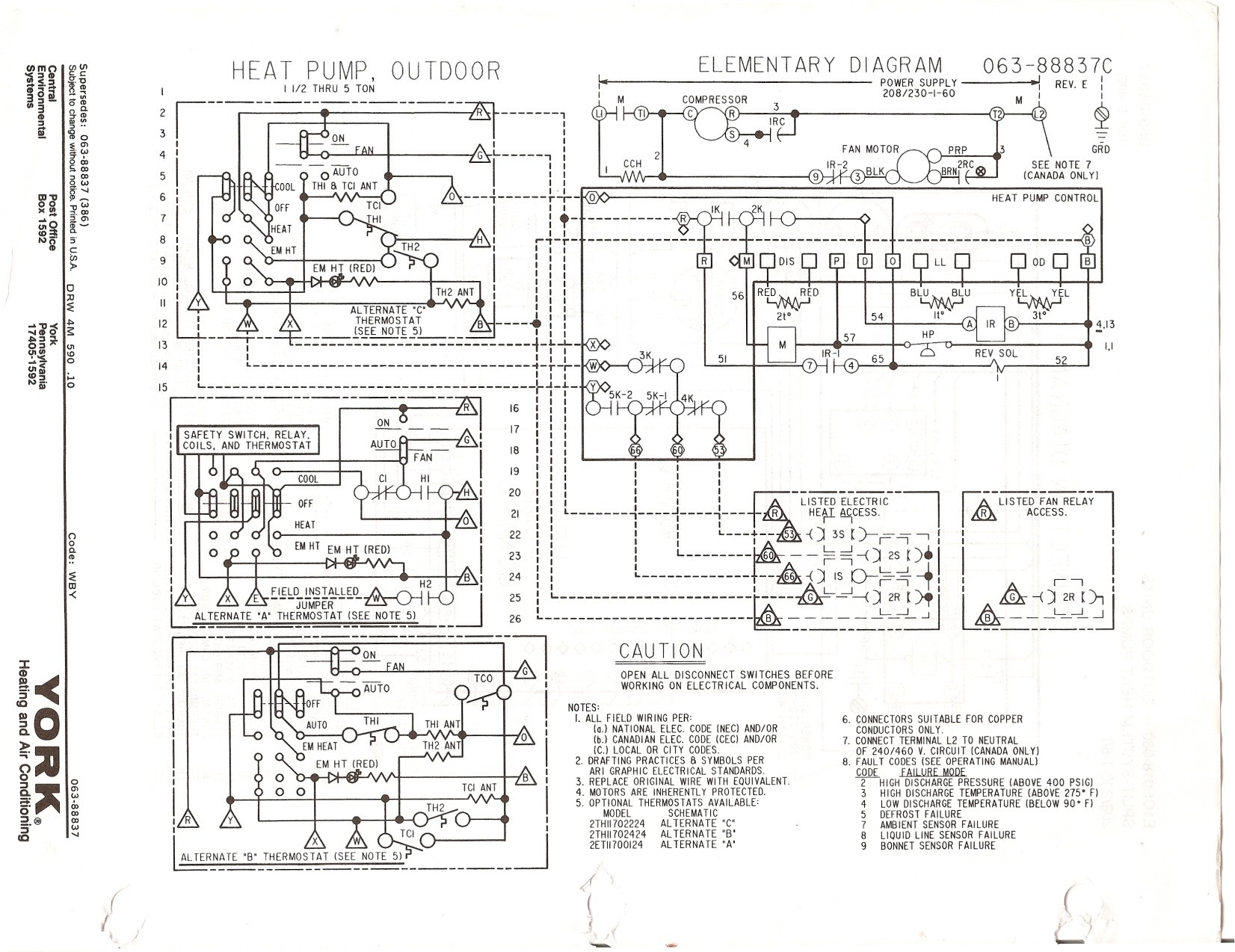Carrier Electric Furnace Wiring Diagram from mainetreasurechest.com