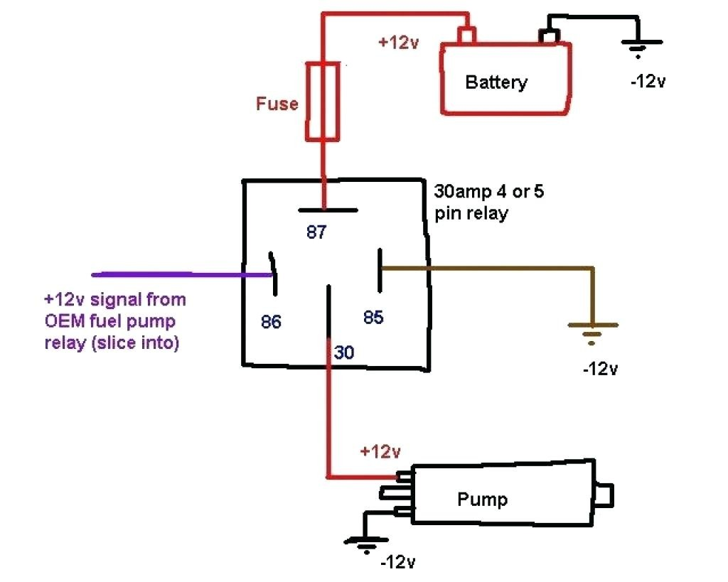 Pin Relay Wiring Diagram | Wiring Diagram