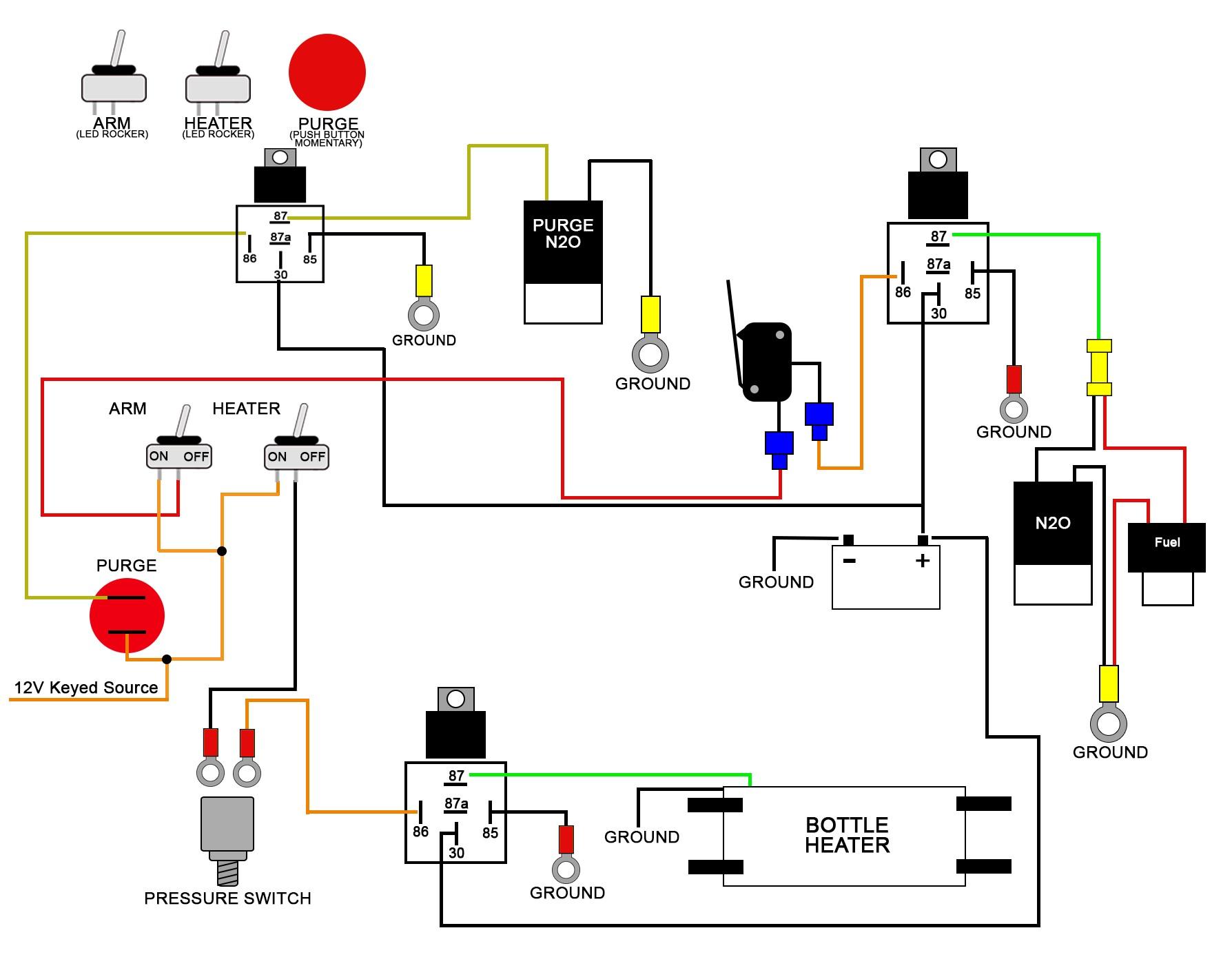 12v Switch Panel Wiring Diagram 7 12V