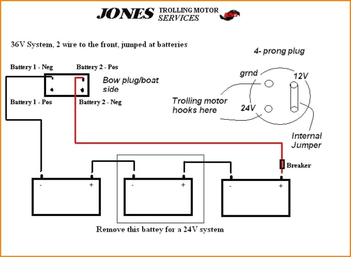Shakespeare Trolling Motor Wiring Diagram Schemes 12 Volt Battery In Parallel 12v 24v Solutions