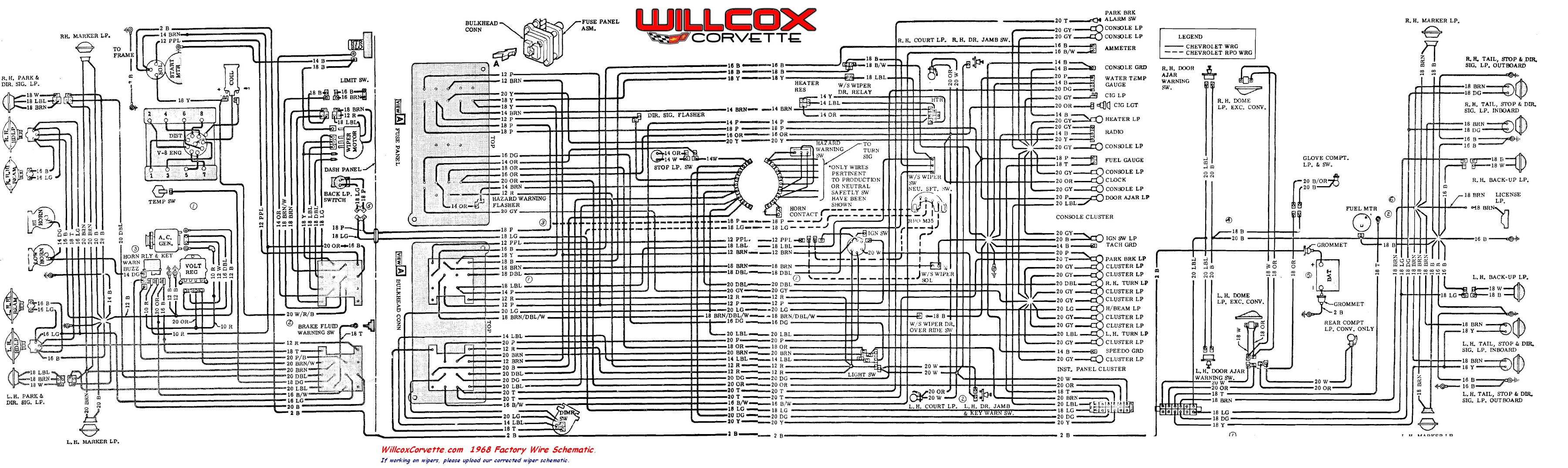 1984 Corvette Wiper Wiring Circuit Connection Diagram \u2022 1968 Chevy Wiper  Motor Wiring Diagram 1984 Camaro Wiper Diagram