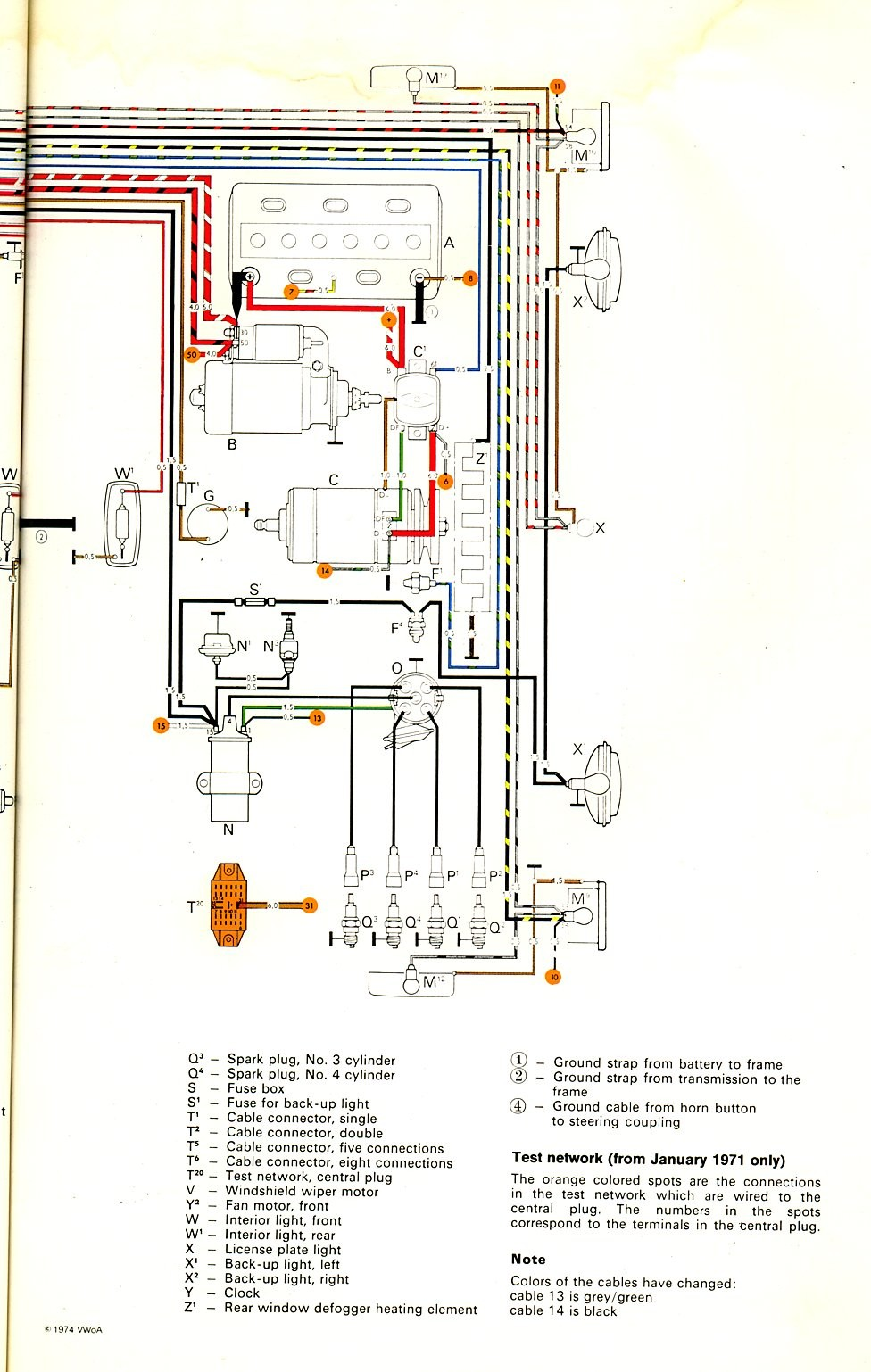 1973 Vw Steering Diagram Schematic Diagrams Super Beetle Wiring Unique Image