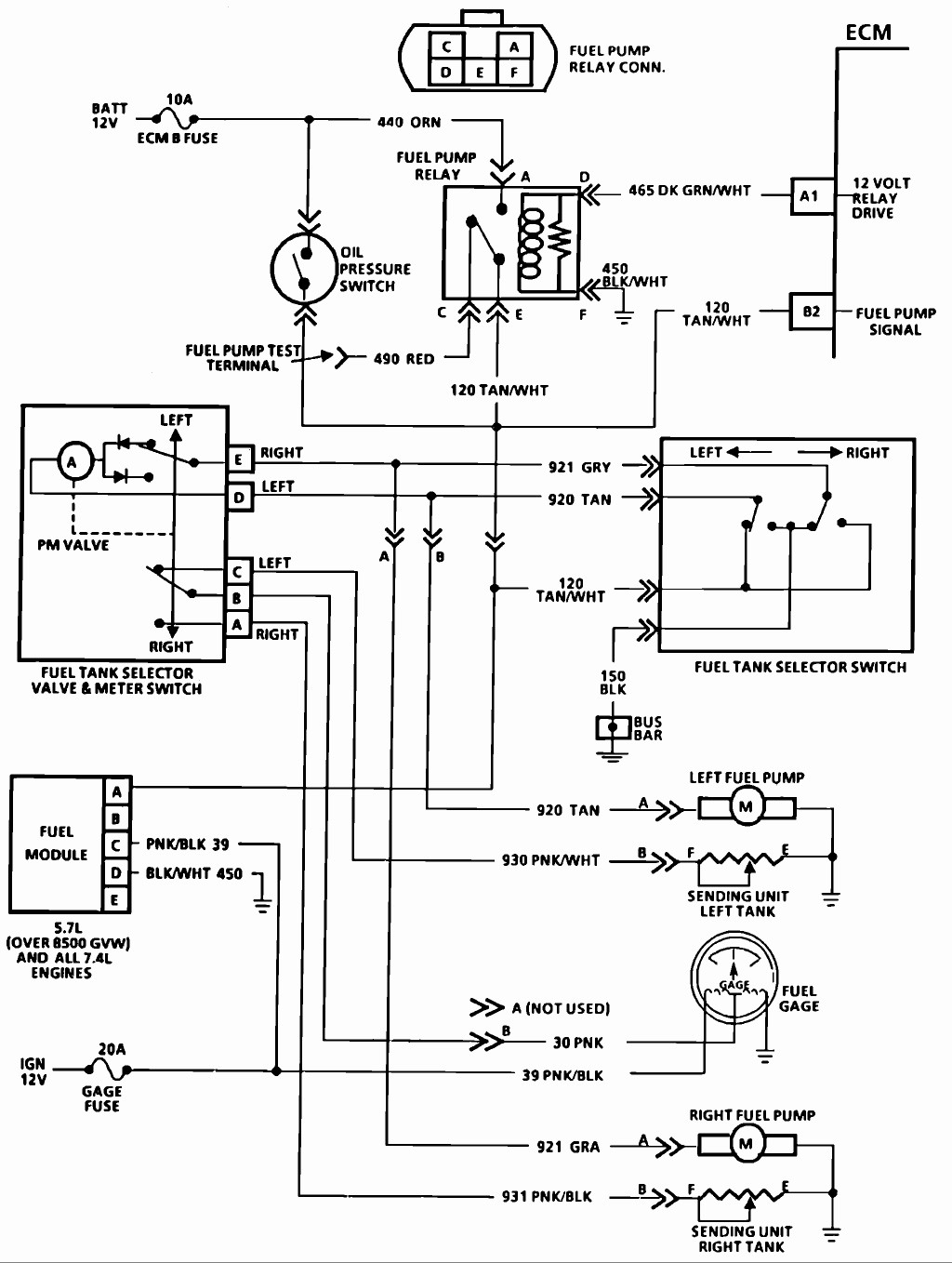 90 gmc fuel pump wiring download wiring diagrams \u2022