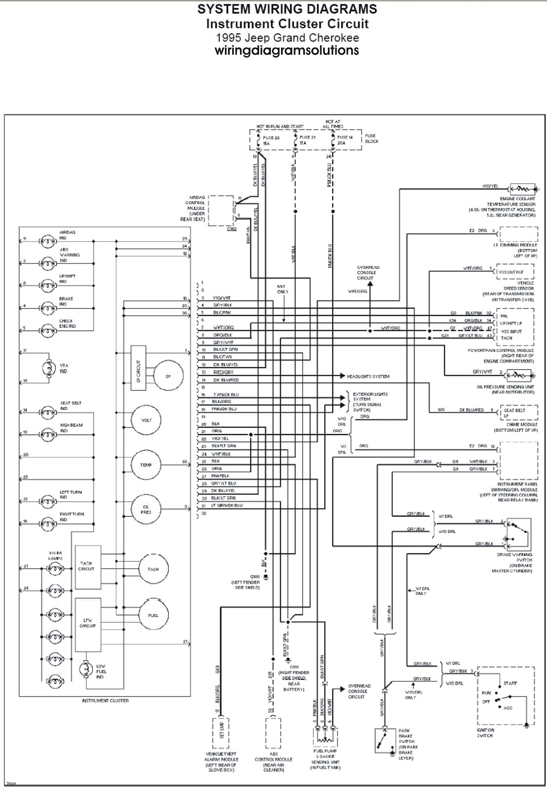 jeep xj infinity wiring diagram - ranger rt roadtrek wiring diagram for wiring  diagram schematics  wiring diagram schematics