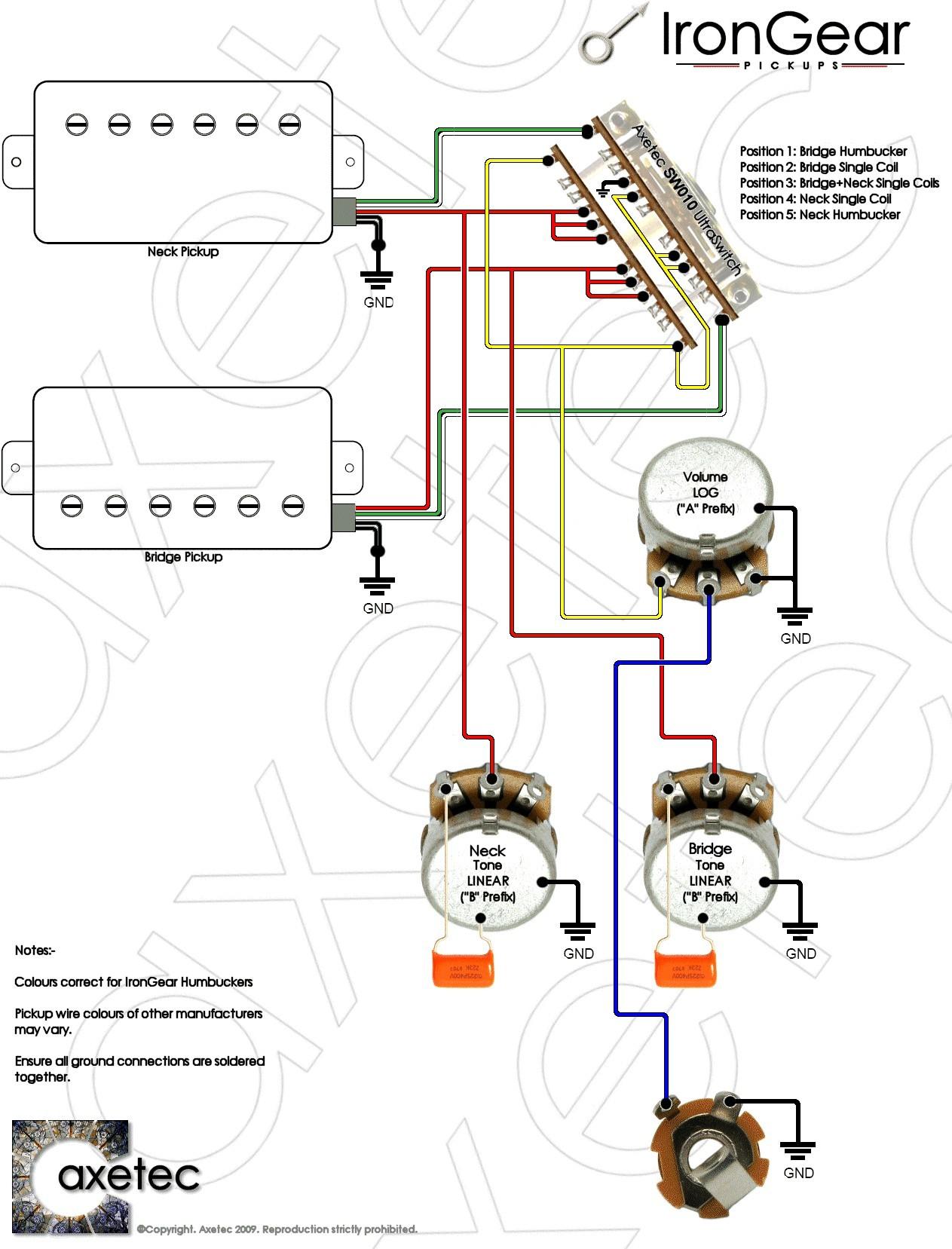 2 humbucker 5 way switch wiring diagrams schematics rh quizzable co at 2  humbucker 5 way