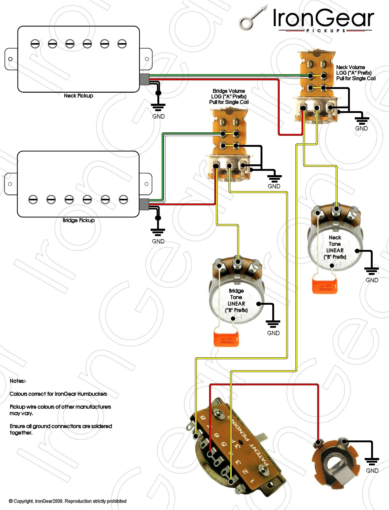 Wiring Diagram Free Download 2 Humbucker 5 Way Switch Trusted Ibanez Guitar Diagrams 3 Rg 550 Wire 1 Single Coil