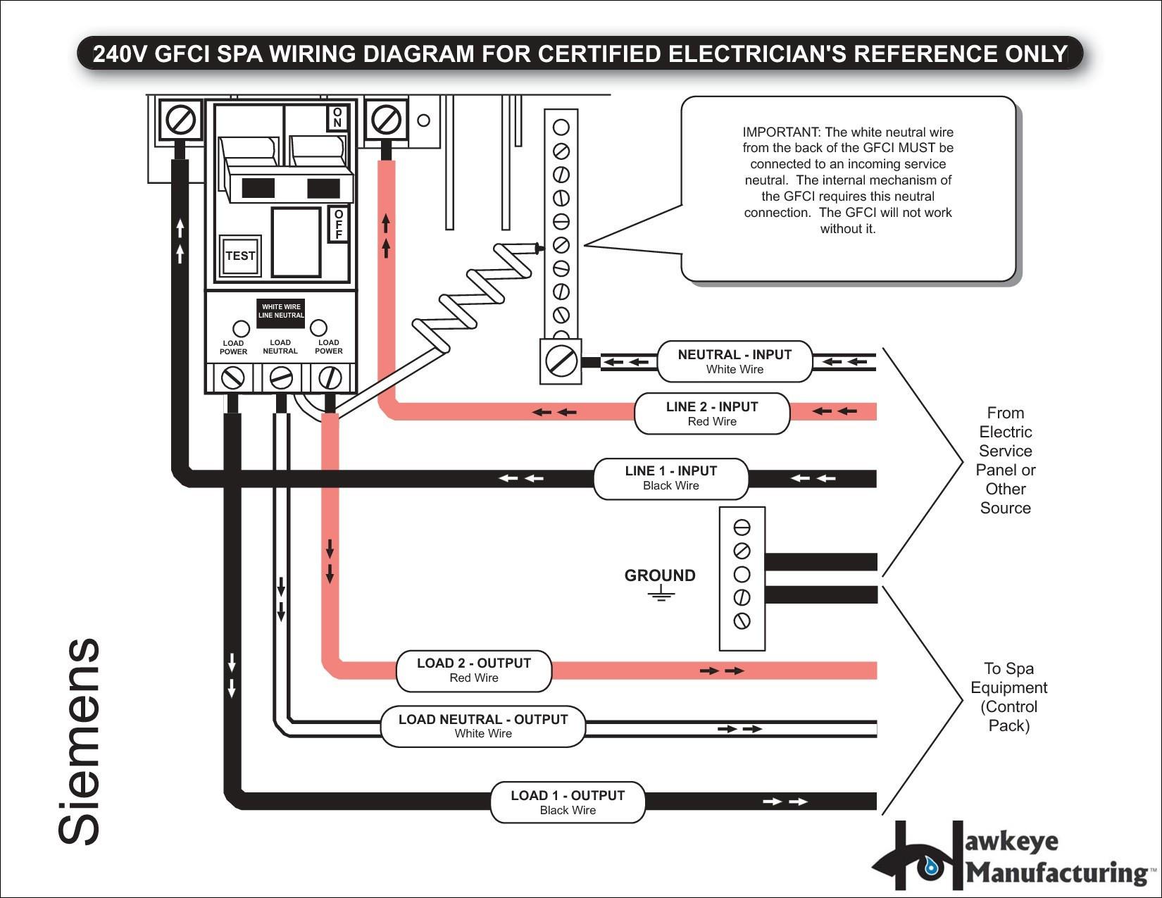 Wiring Diagram Gfci Breaker Save Wiring Diagram Gfci Outlet Valid 2 Pole Gfci Breaker Wiring Diagram