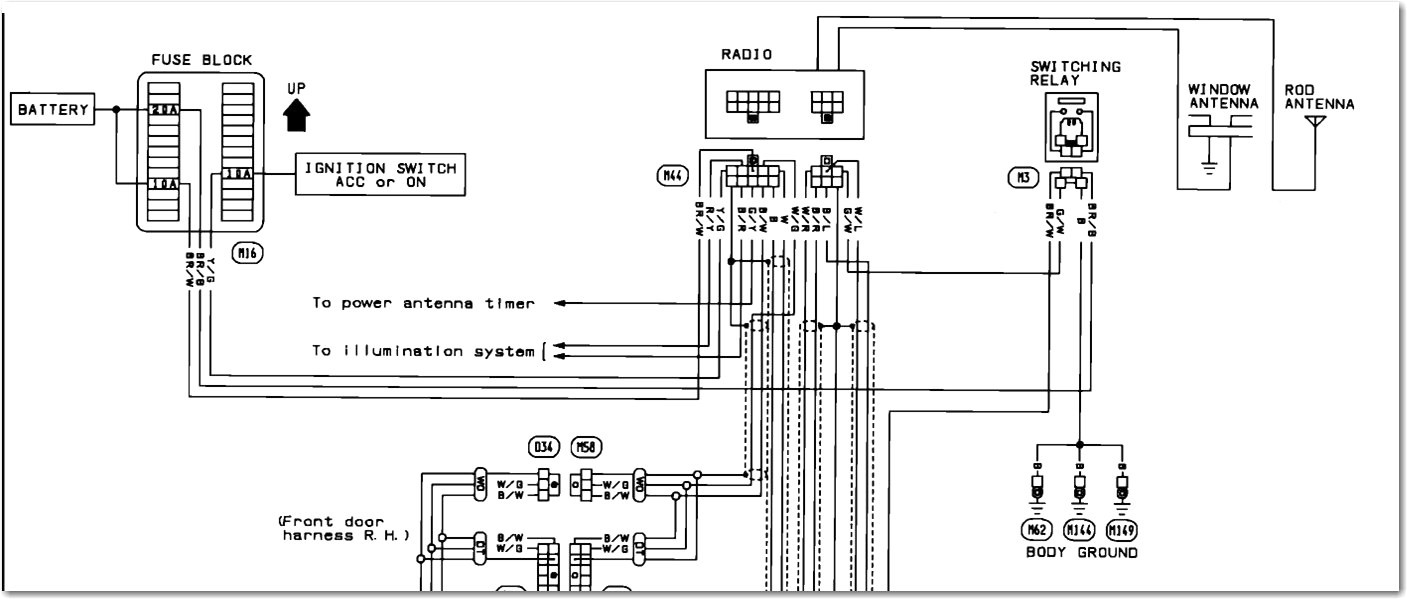 Wiring Diagram For A 1992 Nissan Maxima Bose Stereo Factory Lively 2003