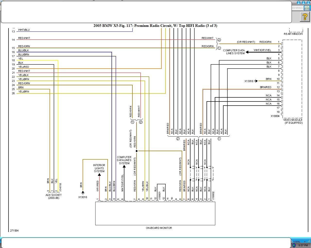 2007 Bmw 335i Radio Wiring Diagram Wire Center \u2022 03 BMW 525 2001 Bmw  525i Wiring Schematics