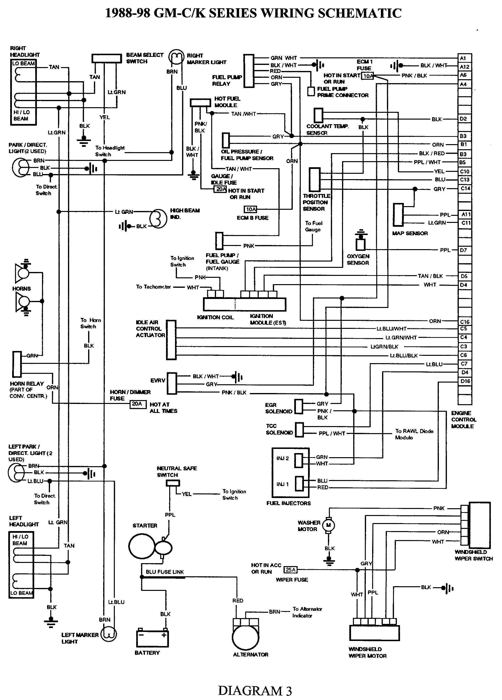 Tail Light Wiring Diagram Chevy Elegant S10 88 Harness 1997 Blazer Fuel Pump 8