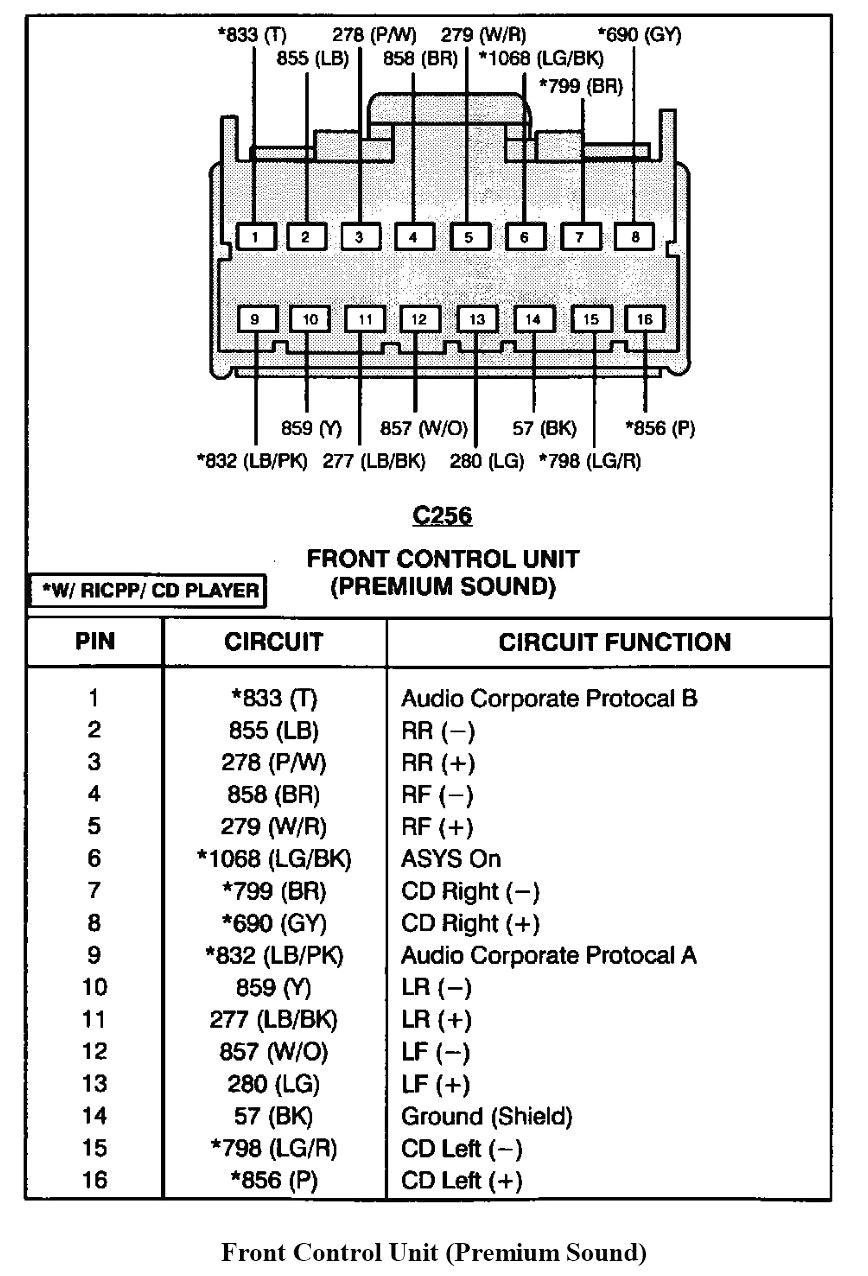 2002 ford escape radio wiring diagram in template arresting and rh  britishpanto org 2002 Mercury Mountaineer