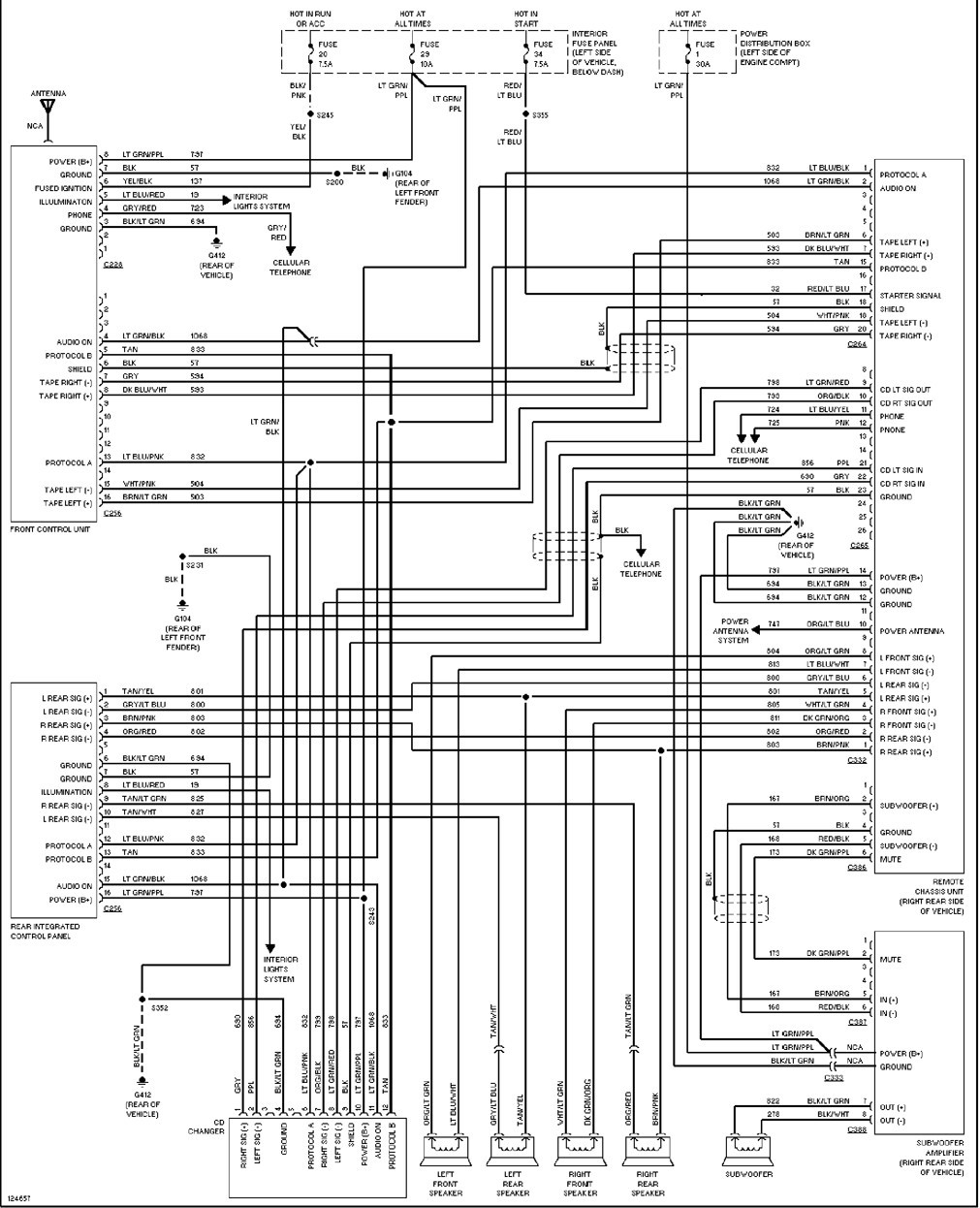 Radio Wiring Diagram For 2005 Ford Explorer Wire Center